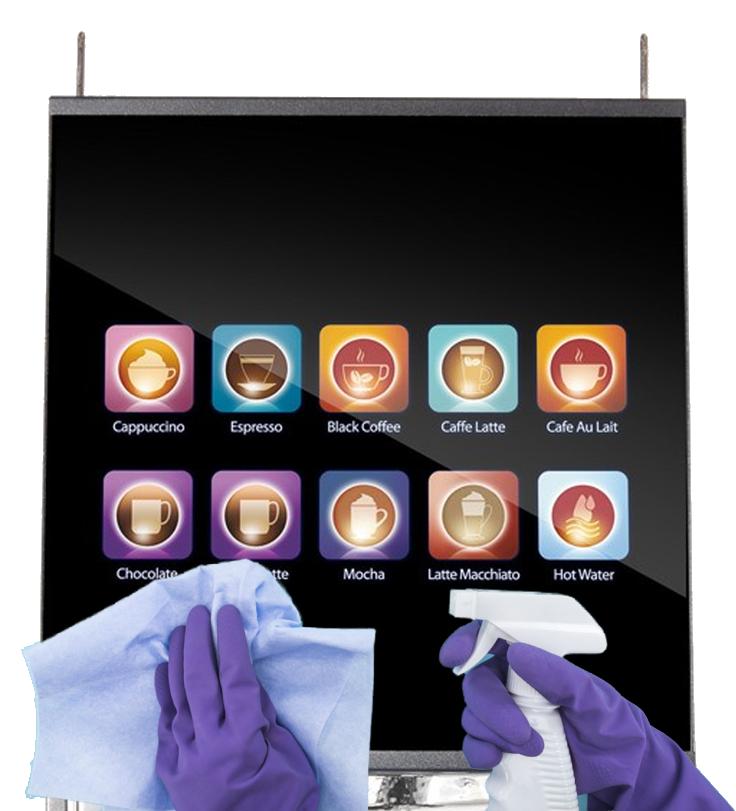 Coffee Vending Machine Hygiene COVID-19 Coronavirus