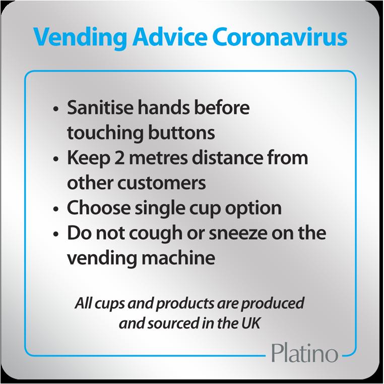 Coronavirus Machine Sign