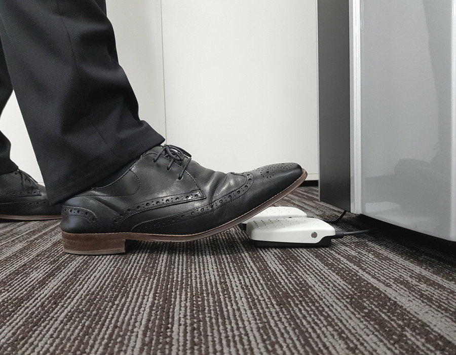 Foot Pedal Operated Water Cooler